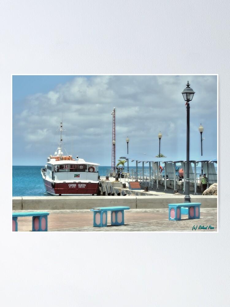 Alternate view of Charlestown Port Poster