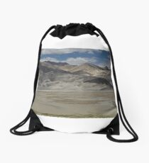 Karakoram Highway Drawstring Bag