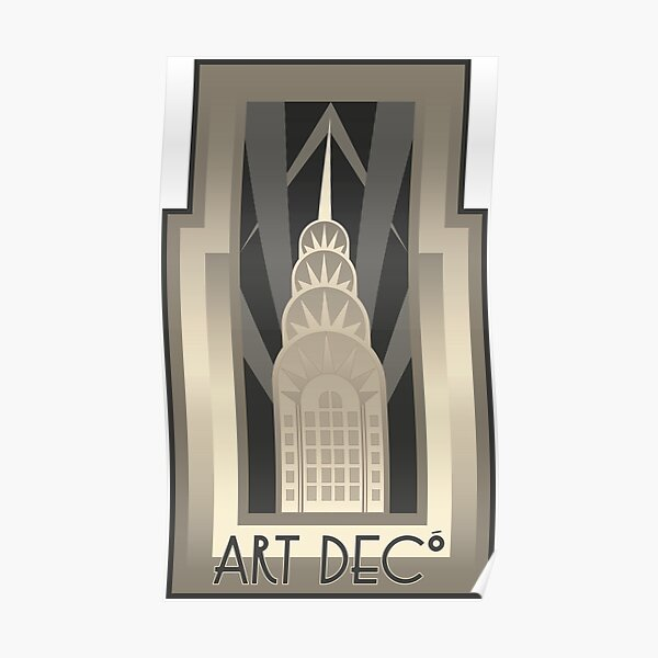 NY Chrysler Building Poster