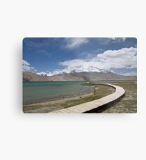 Lake Kara Kul Metal Print