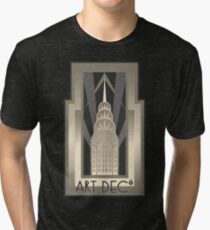 NY Chrysler Building Tri-blend T-Shirt