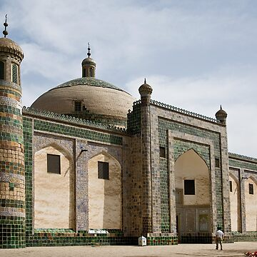 Abakh Hoja Tomb, Kashgar by Scully