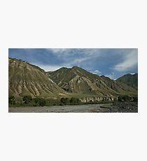 Kyrgyzstan Valley Photographic Print