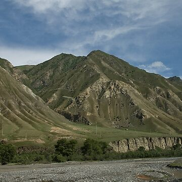 Kyrgyzstan Valley by Scully