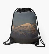 Dawn on the Pamirs at Sary Tash Drawstring Bag