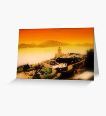 Hong Kong Ocean World Greeting Card
