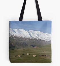 Pamirs near Sary Tash Tote Bag