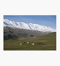 Pamirs near Sary Tash Photographic Print