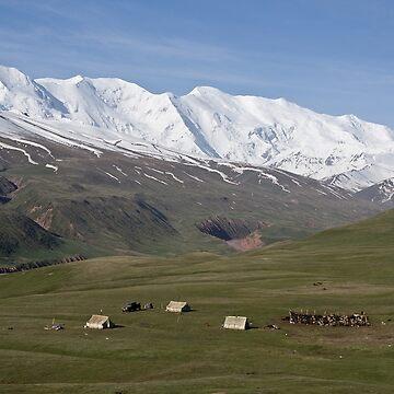 Pamirs near Sary Tash by Scully