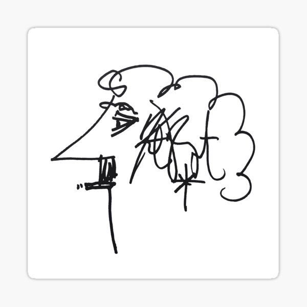 Kurt Vonnegut Sticker