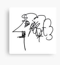 Kurt Vonnegut Canvas Print