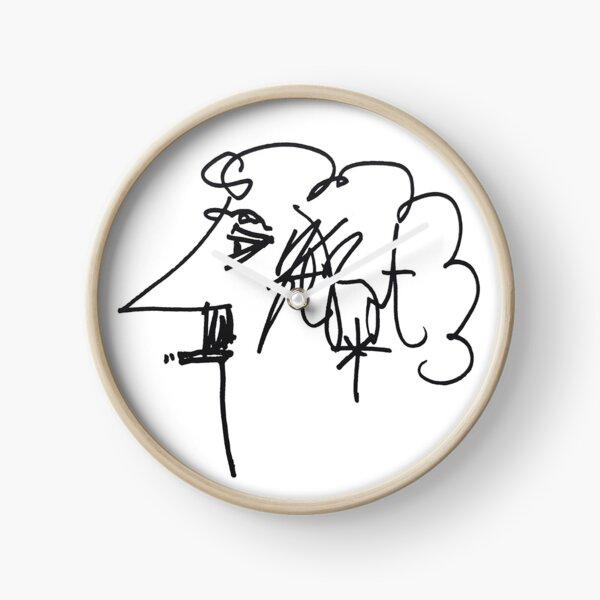 Kurt Vonnegut Horloge