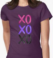 Beautiful XO's  Womens Fitted T-Shirt