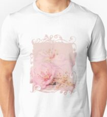 Romantic Soft Pink Peach Blossom T-Shirt