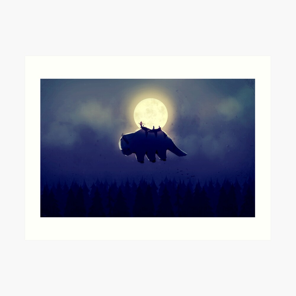The End of All Things - Night Version Art Print