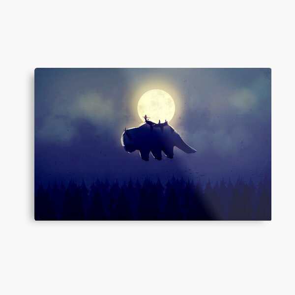 The End of All Things - Night Version Metal Print