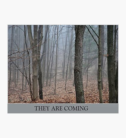 They Are Coming Photographic Print