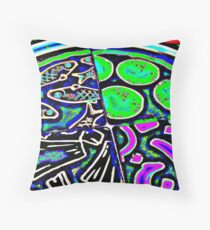 ANCHOVIES PLEASE Throw Pillow