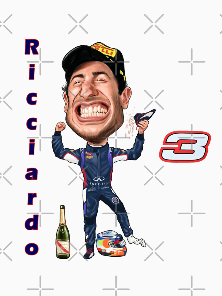 Support Daniel Ricciardo at the Races 2017 NEW by mal108