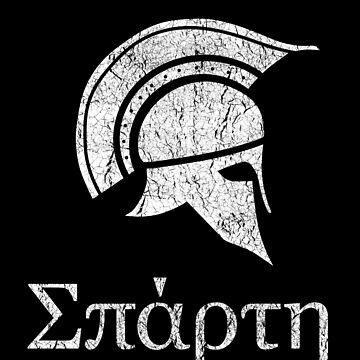 Sparta Spartan Warrior by vladocar