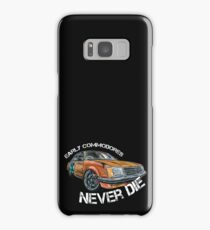 #99001 - Early Commodores Never Die - Curve Samsung Galaxy Case/Skin
