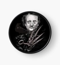 Edward Allan Poe Clock