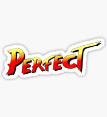 You win, PERFECT! Sticker