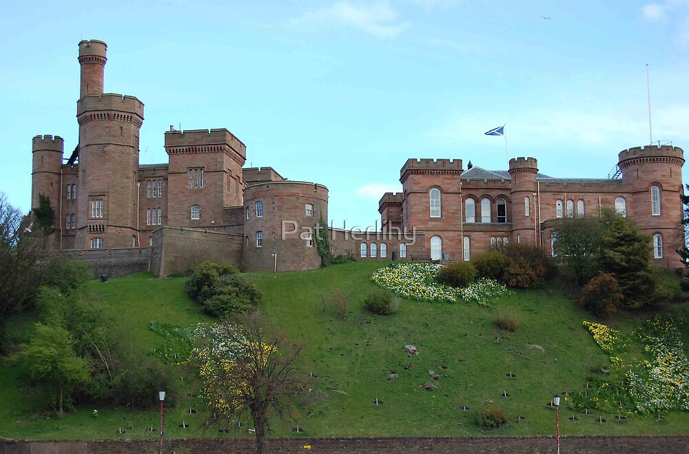 Inverness Castle, Scotland by Pat Herlihy