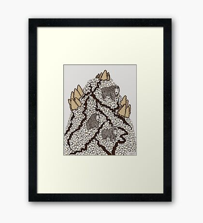 S'more Mountain Framed Print