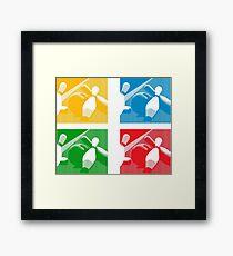 pins Framed Print