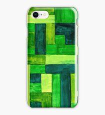 Garden Blocks iPhone Case/Skin