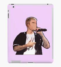 Justin Bieber Drawing iPad Case/Skin