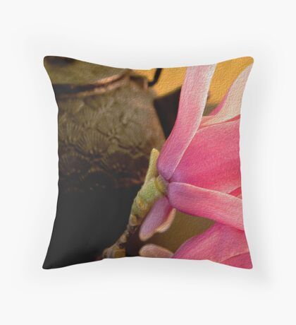 Being in the Moment Throw Pillow