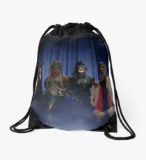 Queens Of Darkness Drawstring Bag