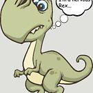 Nervous rex by Zozzy-zebra