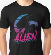 ALIEN EIGHTEES movie old good style eightees covenant nostromo T-Shirt
