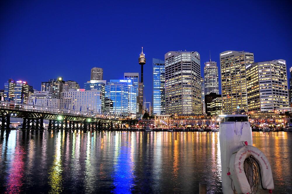 Darling Harbour by wyllys