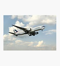 Cathay Pacific Boeing 777 Photographic Print