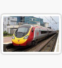 Virgin Trains Pendolino at Warrington Bank Quay Sticker
