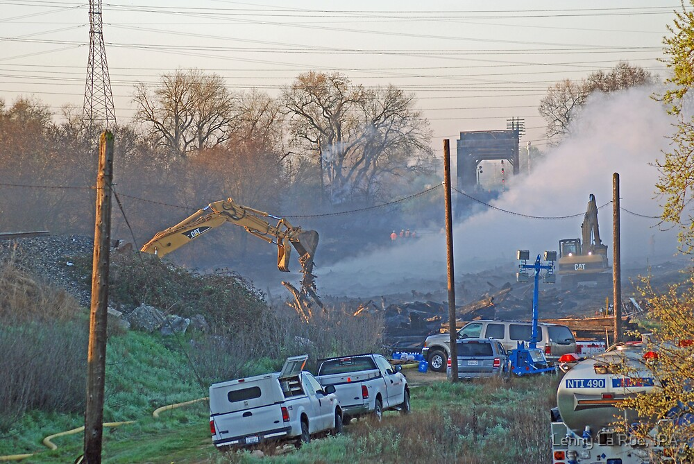 Aftermath 1, Trestle Fire by Lenny La Rue, IPA