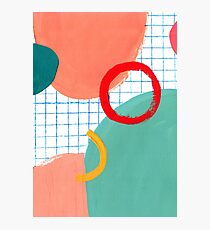 Abstract figures Photographic Print