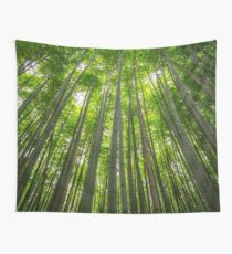 Towering Bamboo Wall Tapestry