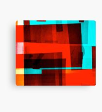 Red Layer Canvas Print
