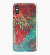 Abstract Work Number Three iPhone Case/Skin