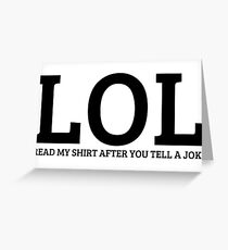 Funny Sarcastic Dark Humor Comedy Joke Lol Disco Cool Boring Whatever Awesome Ignore Birthday Party T-Shirts Greeting Card