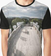 Le banc Vienne Autriche Graphic T-Shirt
