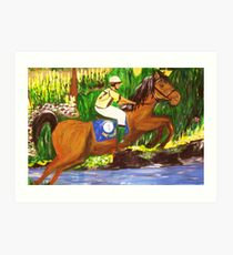 Kentucky Derby Horse by Gretchen Smith Art Print