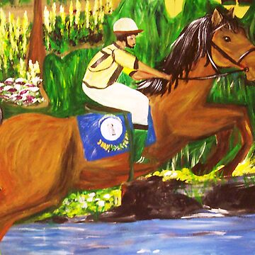 Kentucky Derby Horse by Gretchen Smith by tallartist