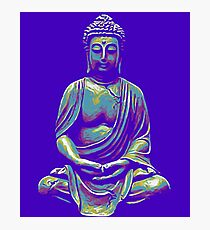 Illustration with Buddha Photographic Print