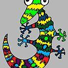 Gecko by Juhan Rodrik